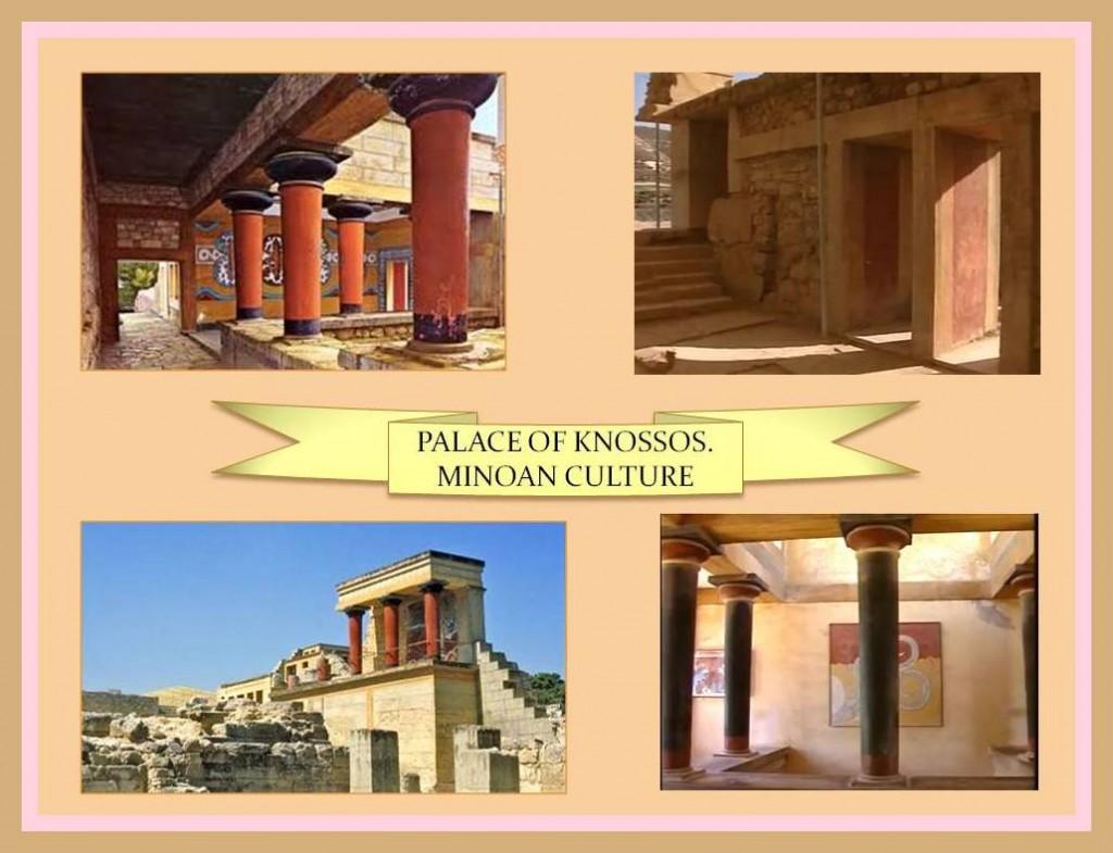 Knossos Palace. Minoan Culture