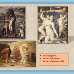 different themes of the greek painting
