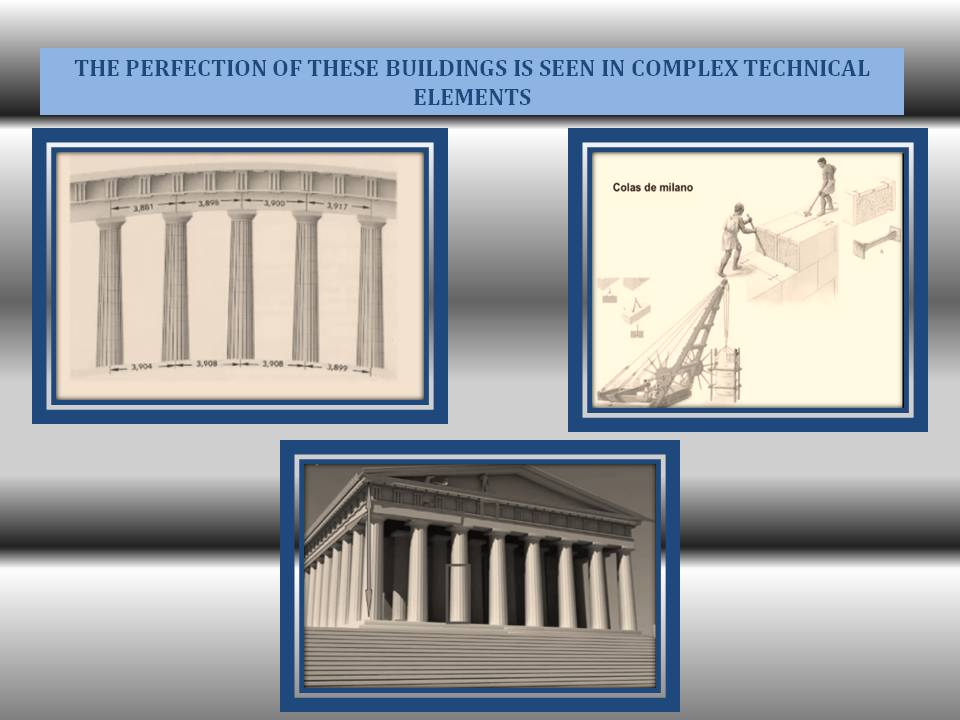 Greek architecture technical Elements