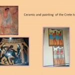Crete painting and ceramic