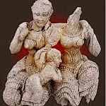 Woman and Child statue