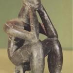 pequena estatua del mesolitico