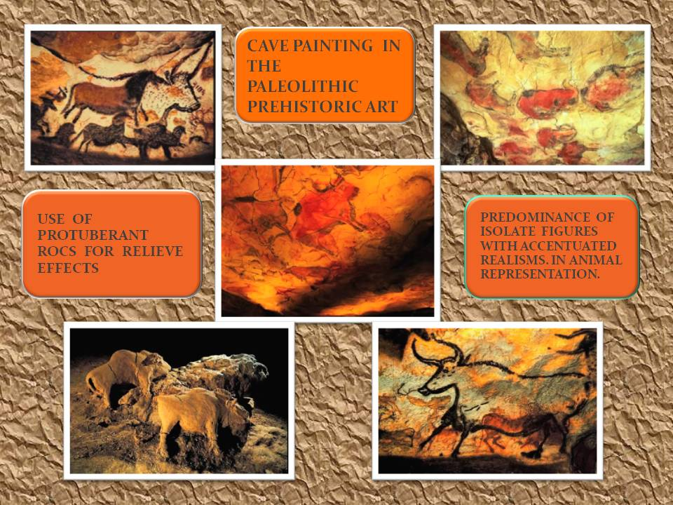 prehistoric paleotithic cave painting