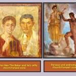 Fourth POmpeii style frescos.