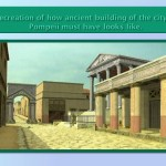 Actual recreation of the city of Pompeii