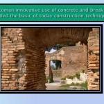 concrete uses in Rome