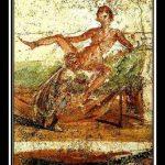Erotic painting in public bathrooms in Roman's thermae
