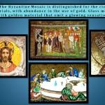 Byzantine Mosaic with glowing sensation