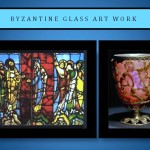 Byzantine glass art work