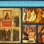 <wbr>Byzantine painting transformation along time