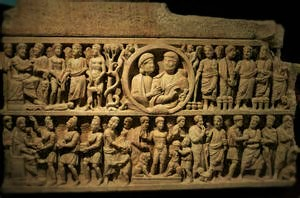 Dogmatic of the Trinity Sarcophagus. Byzantine period.