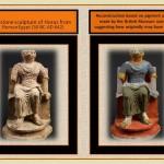 Horus Limestone sculpture Roman Egipt period.
