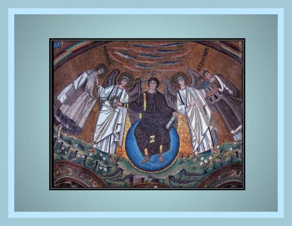 Byzantine Vault paint