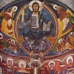 pintura mural bizantina.