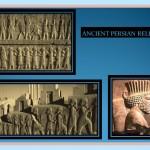 Anciente Persian relief from Persepolis.