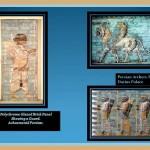Polycrome Glazzed Brick panels. Achaemenid Dynasty