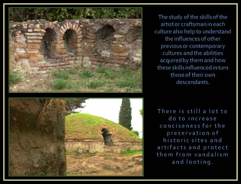 preservation of the historic sites