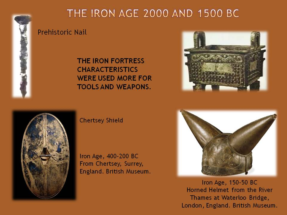 Iron Ages tools and Military technology