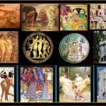 The three Gace theme through art history.
