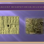 Ancient Mesopotamian relieves