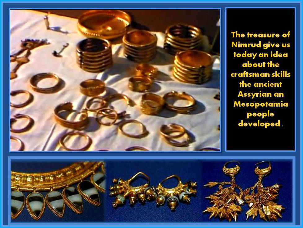 Examples of the Treasure of Numrud