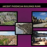 Ancient Phoenician buildings ruins