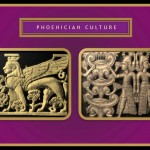 Ivory objects. Phoenician Art.