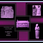Phoenician Sculpture showing funerary thematic