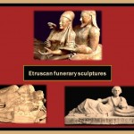 Etruscan funerary sculpture
