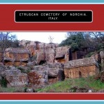 Etruscan Cementery of Norchia. Italy