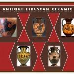 Ancient Etruscan ceramic