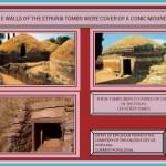 Cerveteri Tombs. Etruria