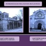 Romanesque religious buildings