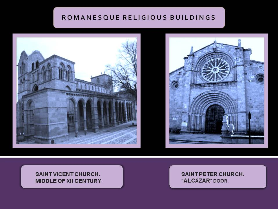 Romanesque religious buildings