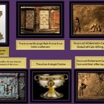 Best known in Romanesque metal work pieces