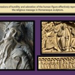 <wbr>Expression of adoration in the scupture humans figures in the <wbr>Romanesque <wbr>Art.