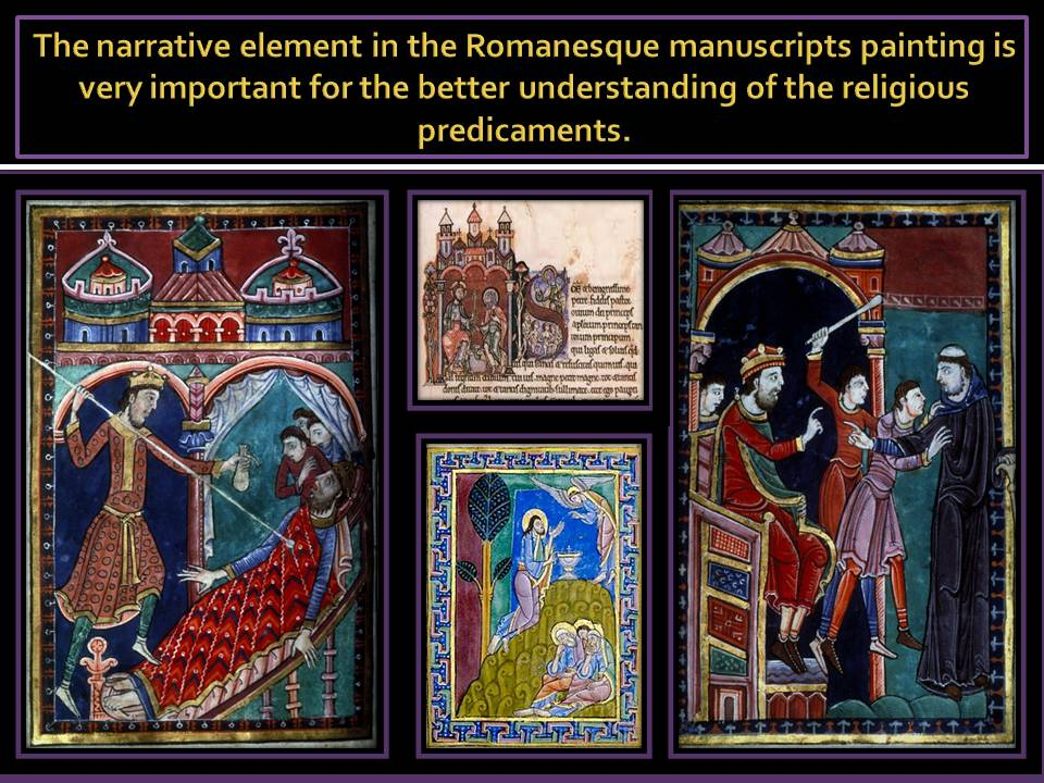 Romanesque Manuscripts painting