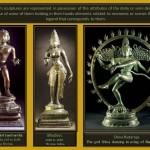 Hinduism sculpture and representation of symbolism.