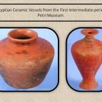 Intermidiate Period Potteries. Egypt.
