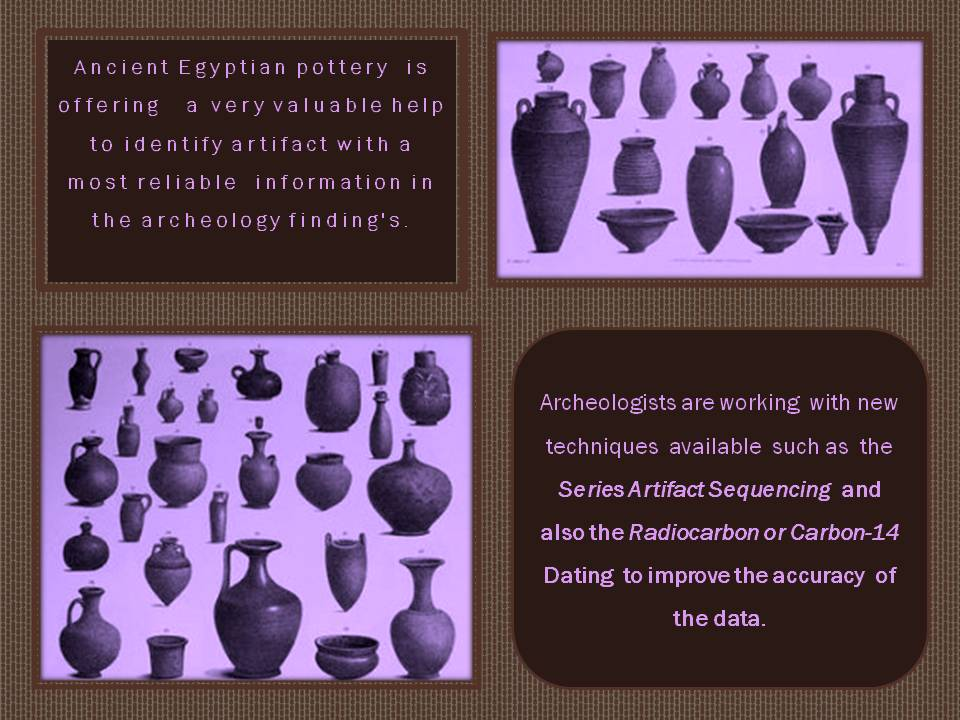 New archeology tools to identify pottery.
