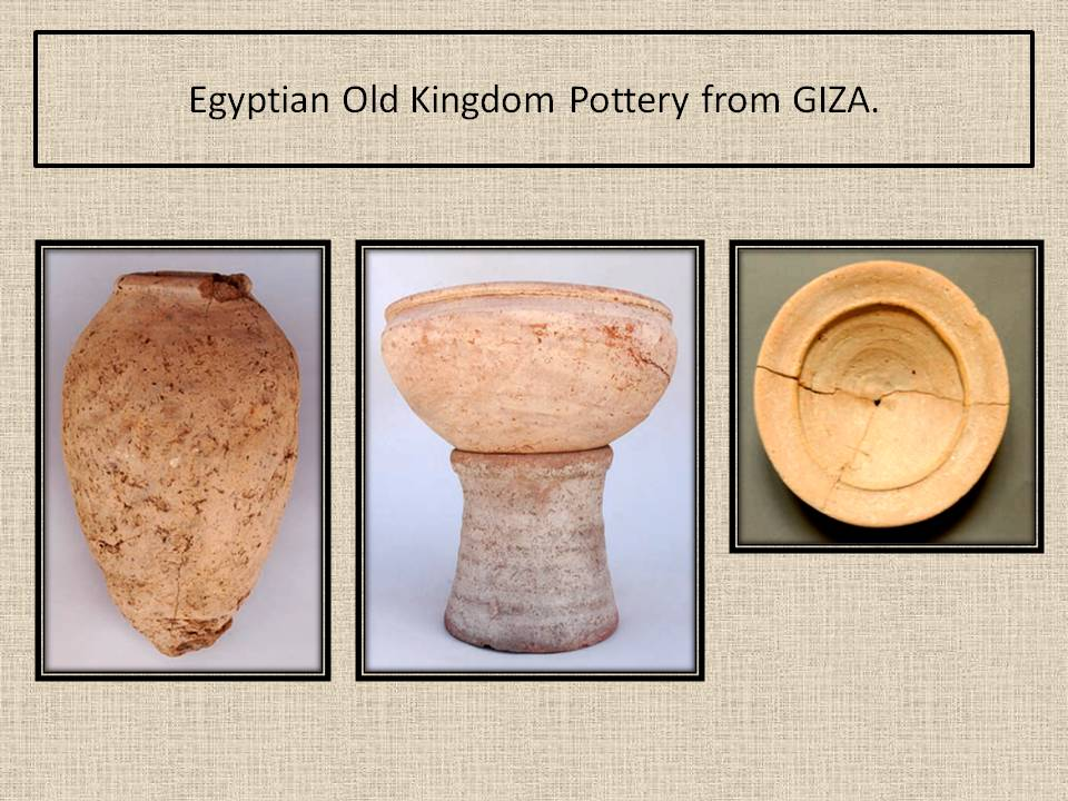 Old Kingdom Potteries. Egipt.Giza.