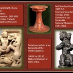 Terracota objects from India