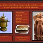 <wbr>Sand stone and <wbr>Paper <wbr>Mache objects from <wbr>India