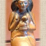 human figures depictions in Egyptian ceramic. – Copy