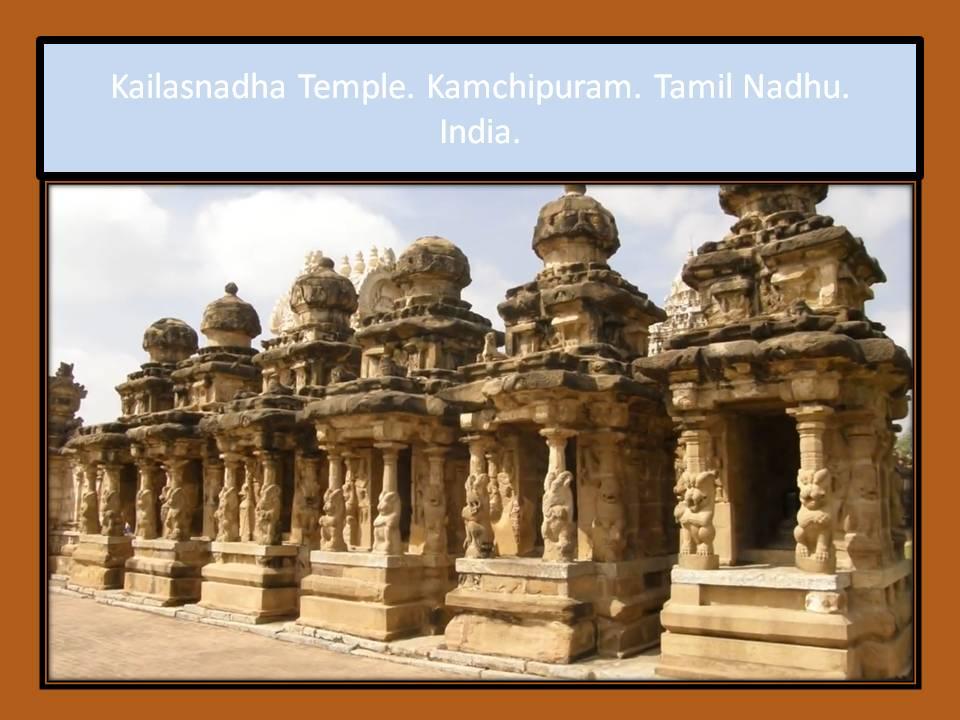 Kailasnadha Temple. Kamchipuram.India