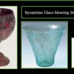 Byzantine beaker and cups