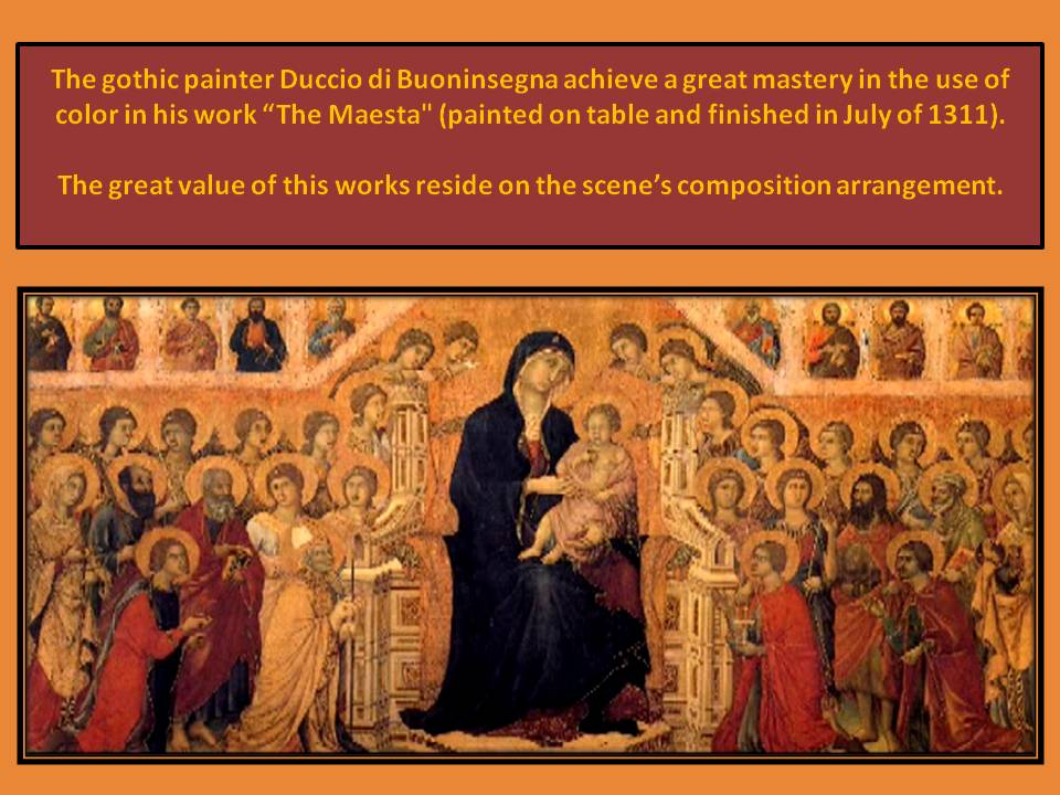 maesta. Duccio