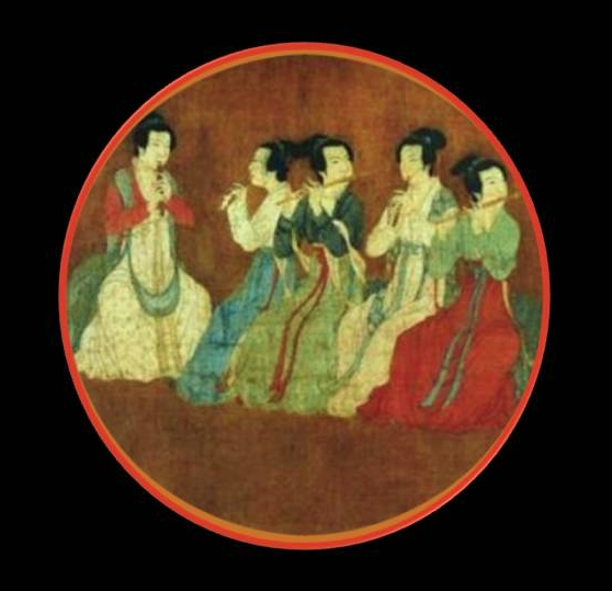 Fragment from Emperor Huanshong painting