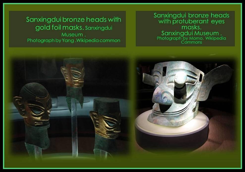 Sanxingdui sculptures
