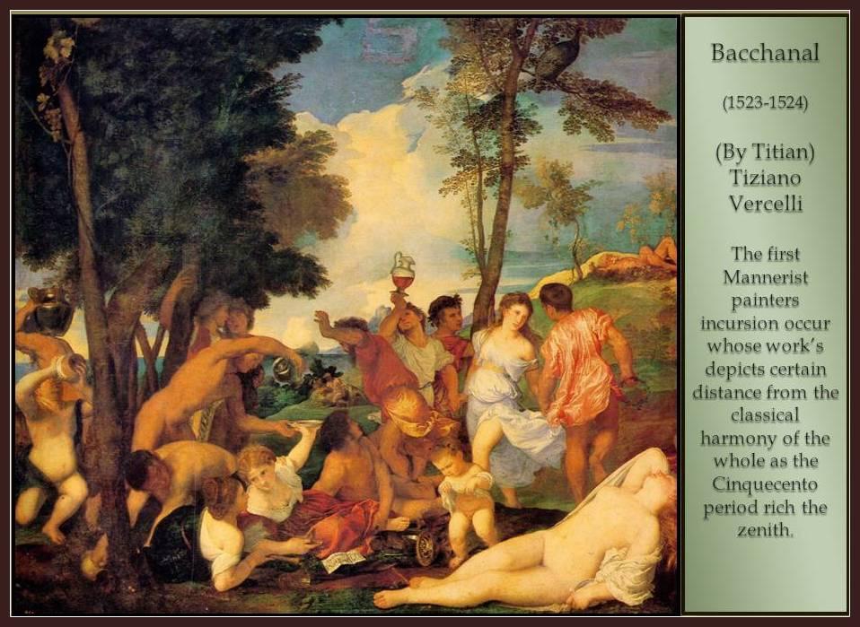 Bacchanal. Titian